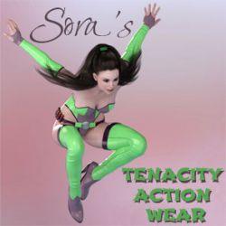 Sora's Tenacity Action Wear