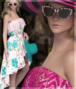 7th Ave: HC Beach Dress