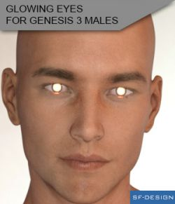 Glowing Eyes for Genesis 3 Males
