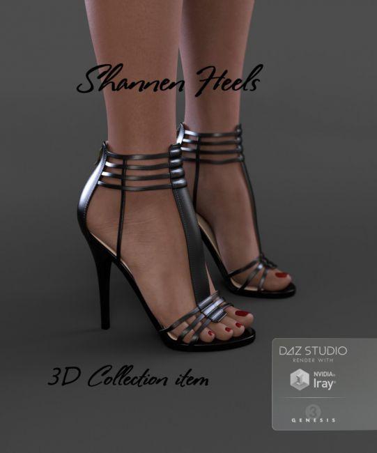 Shannen Heels for Genesis 3 Female(s)