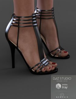 Shannen Heels for Genesis 3 Female(s)