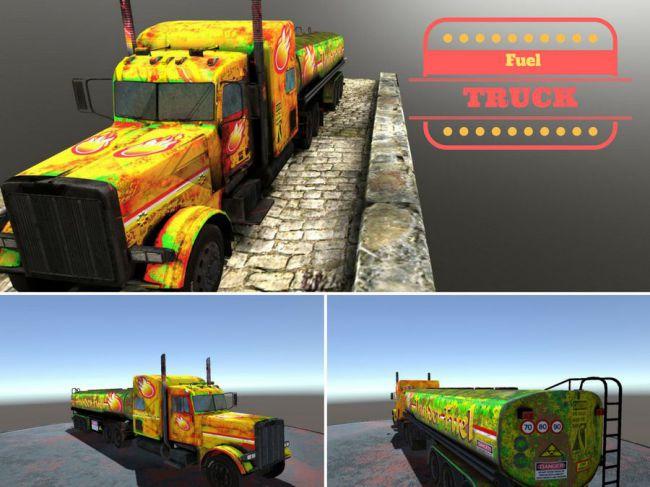 Fuel Truck game model