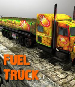 Fuel Truck game model