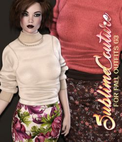 Sublime Couture: Fall Outfits Genesis 3 Female(s)