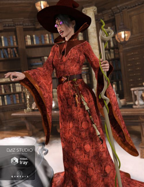 Sorceress for Genesis 3 Female(s)