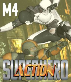 SuperHero Action for M4 Volume 1