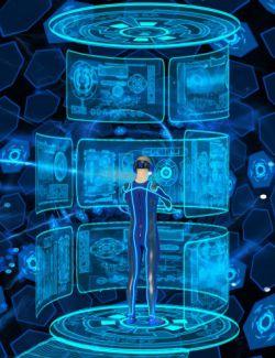 Easy Snap Virtual Reality Interface