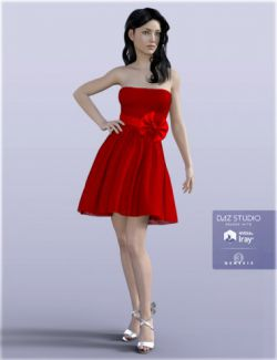 H&C Party Dresses A for Genesis 3 Female(s)