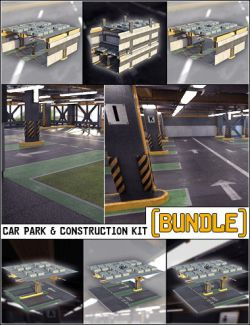 Multi Story Car Park & Construction Kit Bundle
