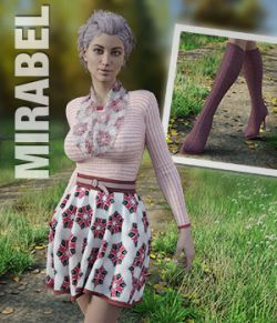 MIRABEL Textures for First Date Outfit