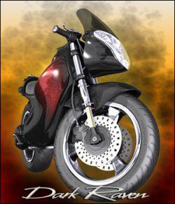 Dark Raven Motorcycle