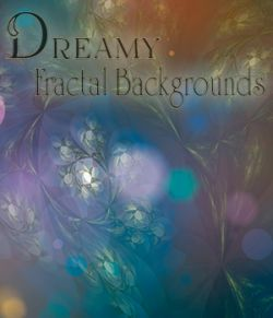 Dreamy Fractal Backgrounds