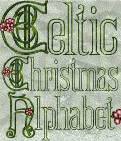 Harvest Moons Celtic Christmas Alphabet