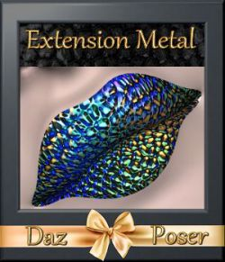 Botany: Metal Extension for Daz and Poser