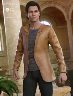 Leather Style Outfit for Genesis 3 Male(s)
