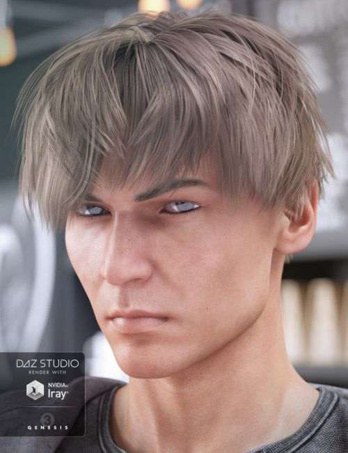 AJ Hair for Genesis 3 Male(s)