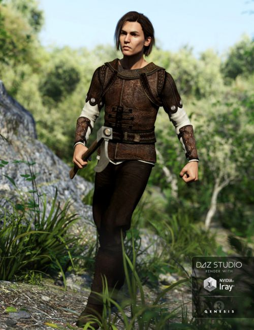 The Huntsman Outfit for Genesis 3 Male(s)