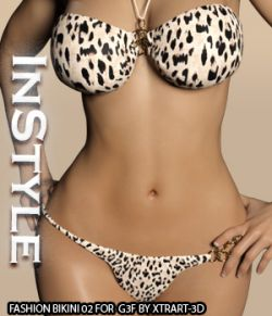 InStyle- Fashion Bikini 02 for G3F