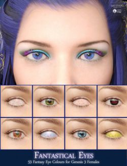 Fantastical Eyes for Genesis 3 Female(s)