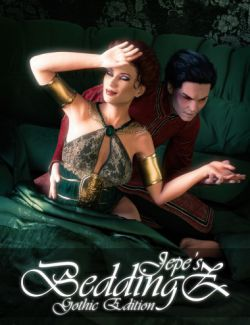 Jepe's BeddingZ Props and Poses Gothic Edition