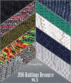 FS 2016 Knittings Resource Vol.II