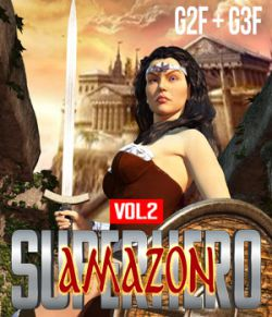 SuperHero Amazon for G2F & G3F Volume 2