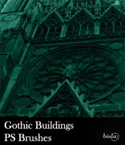 Gothic Buildings PS Brushes