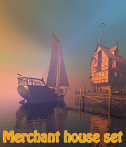 Merchant house set