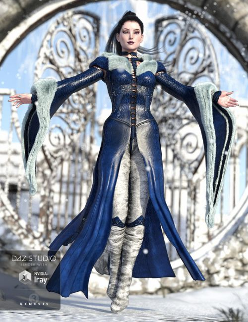 The NightQueen Wardrobe Collection for Genesis 3 Female(s)