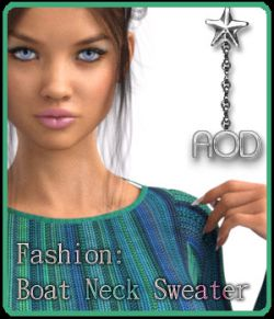 Fashion: FB Boat Neck Sweater