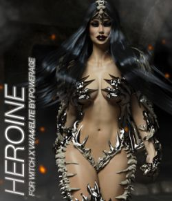 HEROINE - Witch X V4A4F4Elite - IRAY EXPANSION