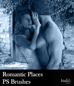 Romantic Places PS Brushes