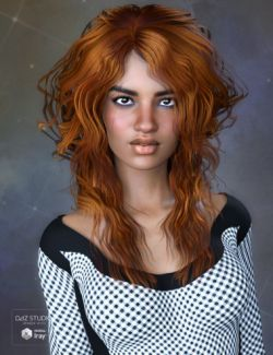 Chandra Hair for Genesis 3 Female(s)