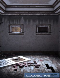 Collective3d Movie Sets Haunted Interior