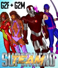 SuperHero Team for G2F & G2M Volume 1