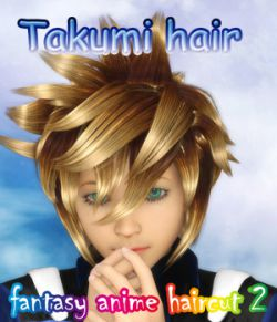 fantasy anime haircut 2 _Takumi hair_ for G3M