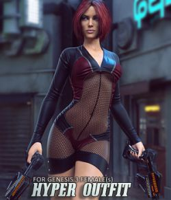 Hyper Outfit for Genesis 3 Females