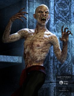 Mathius Vampire for Genesis 3 Male(s)