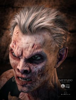Mathius Hair for Genesis 3 Male(s)