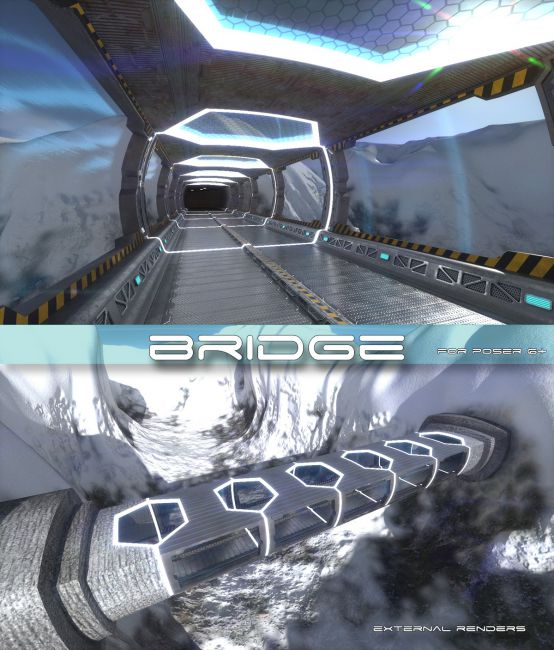 AJ Bridge | Architecture for Poser and Daz Studio
