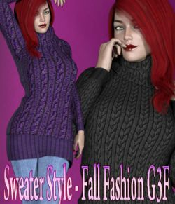 Sweater Style- Fall Fashion G3F