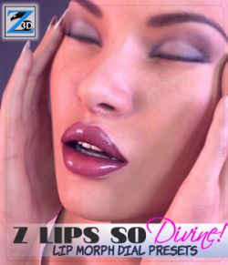 Z Lips So Divine- Lip Morph Dial Presets for the Genesis 3 Female(s)