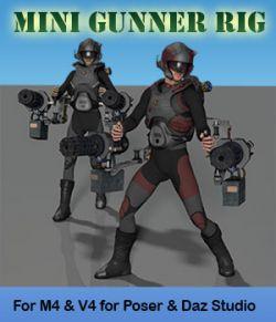 Sci-Fi MiniGunner Rig