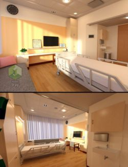 Hospital Bedroom
