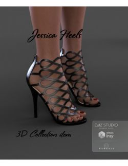 Jessica Heels for Genesis 3 Female(s)