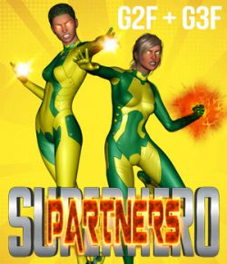 SuperHero Partners for G2F & G3F Volume 1