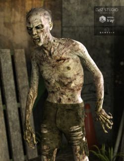 Markus Zombie for Genesis 3 Male(s)