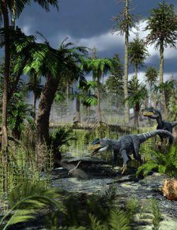 Mesozoic Badlands