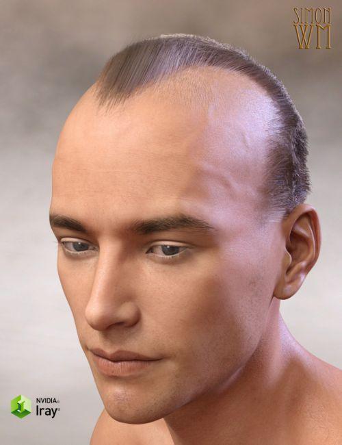 Deep Hairline for Genesis 3