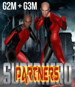 SuperHero Partners for G2M & G3M Volume 1